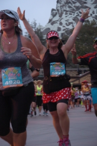 I'm running in Disneyland!