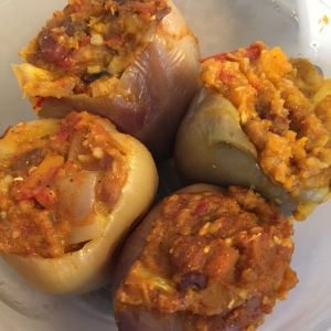 HMR Diet Stuffed Peppers