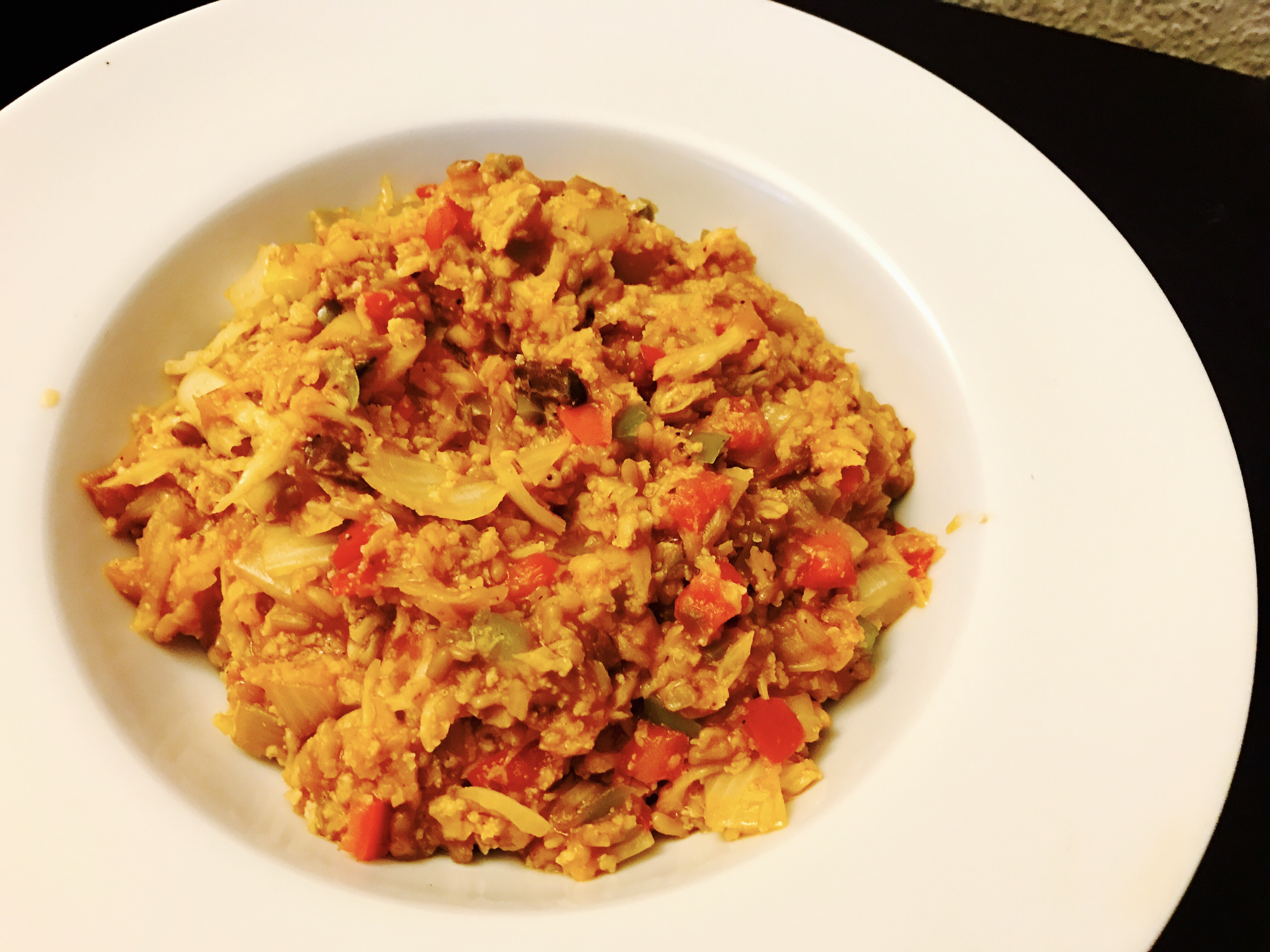 Bulking up the hmr diet chicken creole entree healthy solutions this one is short and easy but so good i had to share and while you can grate cauliflower or run it through a food processor to get that rice texture forumfinder Gallery